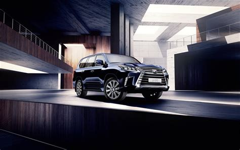 Download Wallpapers Luxury Cars, Lexus Lx 570, 2016, Suvs
