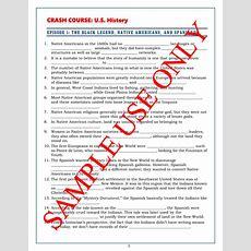 Crash Course Us History Worksheets Episodes 15 Worksheets
