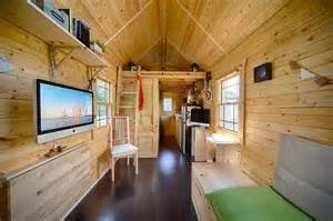 Tiny Homes Interior by Live A Big In A Tiny House On Wheels