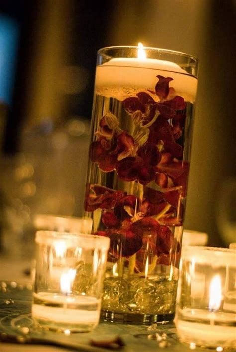 Candle Decorating With Glasses by Decorating Candle Centerpieces Upcycle