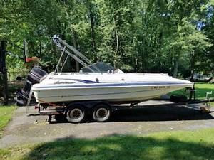 1998 Hurricane 201 Deckboat Powerboat For Sale In New Jersey