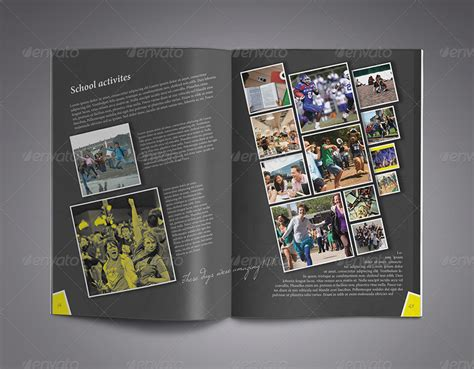 modern yearbook template  zheksha graphicriver