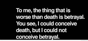 Betrayal quotes, sayings with pictures