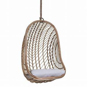 Makeba Hanging Chair Natural INTERIORS ONLINE