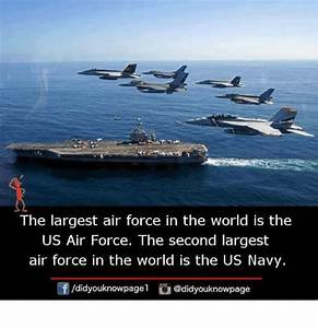 The Largest Air Force in the World Is the US Air Force the ...