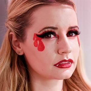 Maquillage D Halloween Pour Fille : maquillage halloween 99 inspirations pour le visage ~ Melissatoandfro.com Idées de Décoration