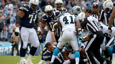 panthers  chargers week  injury report