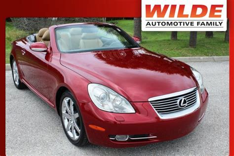 electric power steering 2008 lexus sc navigation system used car of the week 2008 lexus sc 430 wilde jaguar of sarasota news