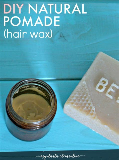 organic hair styling wax 19 ways to makeover your routine with essential oils
