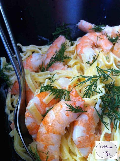 salade de p 226 tes fra 238 ches aux crevettes citronn 233 es recette