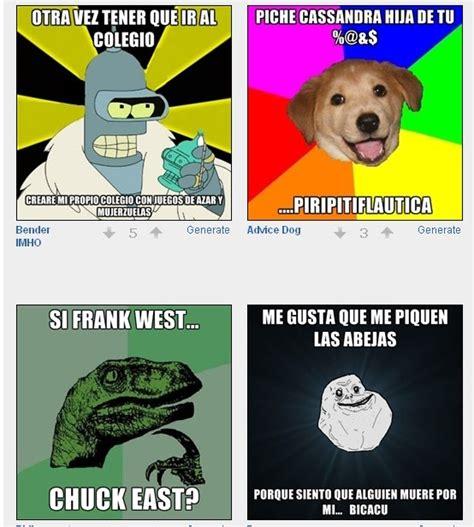 Meme Generator En Espaã Ol - crea tus propias frases celebres pero tontas con memes utilidades webblog