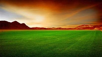 Grass Field Fields Wallpapers Mountains Landscapes Seed