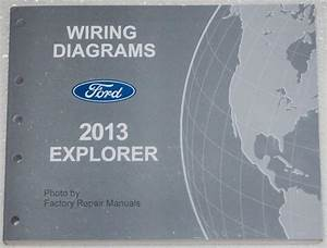 Buy 2013 Ford Explorer Wiring Diagrams Manual Electrical Shop Service Motorcycle In Seattle