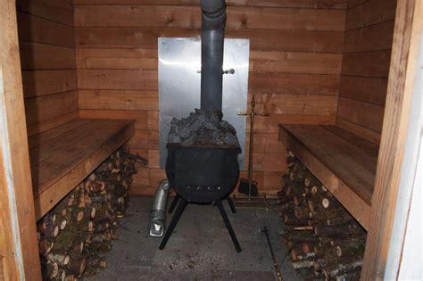 sauna    replacement wood burning