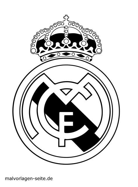vorlage logo real madrid