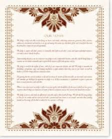 catholic wedding program templates apache blessing