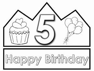 happy birthday crown template images template design ideas With happy birthday crown template