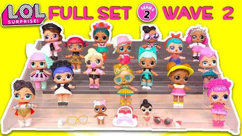 full set series  wave  lol surprise doll collection