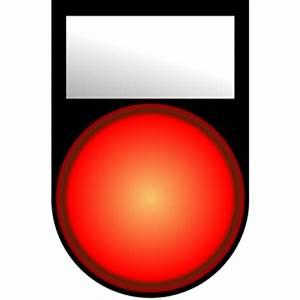 Voyant Volant Rouge : voyant rouge allume red light on clipart cliparts of ~ Gottalentnigeria.com Avis de Voitures