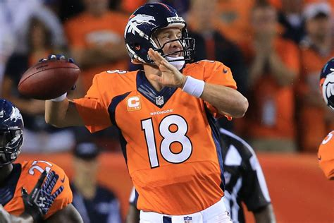 ravens  broncos  final score peyton manning breaks