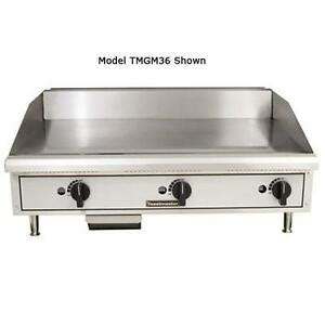 Countertop Griddle Gas - toastmaster tmgm36 36 quot countertop gas griddle flat top