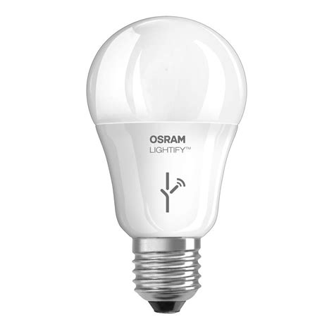 shop sylvania lightify 60 w equivalent dimmable soft white