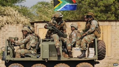 South Africa Army 'not Scared' Of Dr Congo Conflict