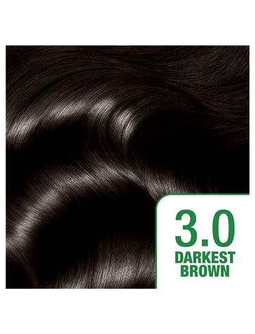 Darkest Brown Hair Color by 3 Darkest Brown Garnier Nutrisse Cr 232 Me