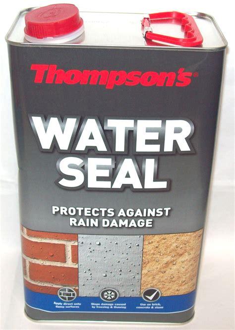 thompsons water seal waterproofer protector brick