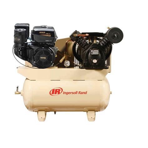 ingersoll rand type 30 reciprocating 30 gal 14 hp gas truck mount air compressor 2475f14g the