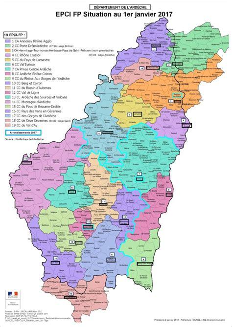 chambre d agriculture carte des communautés de communes et agglomérations epci
