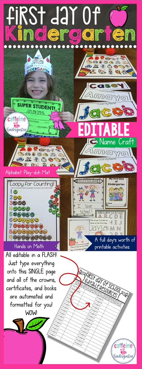 day of kindergarten lesson plans back to school 593 | e92f1fa50a7a747f859678b675504fe3