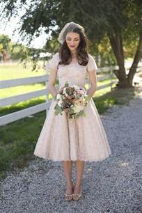 robe mariage boheme 20 of the most vintage tea length wedding dresses for