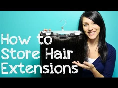 How To Store Clip In Hair Extensions  Instant Beauty
