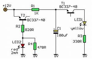 Supply Voltage Indicator Circuit Diagram