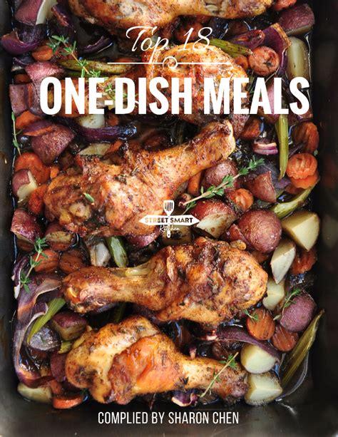 top 18 one dish meals cookbook streetsmart kitchen