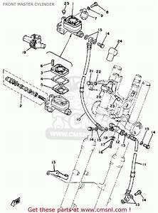 Yamaha Sr500 1981 Usa Front Master Cylinder