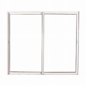 Baie Vitree Coulissante : baie vitr e coulissante en pvc blanc 215 x 300cm ~ Dallasstarsshop.com Idées de Décoration