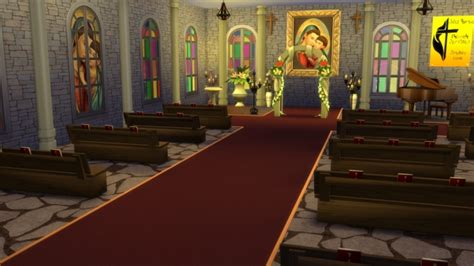 church stuff  simlifecc sims  updates