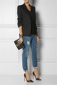 Tenue A La Mode : le jean boyfriend femme 70 id es comment le porter ~ Melissatoandfro.com Idées de Décoration