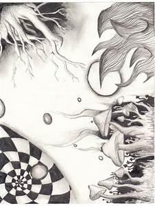 Trippy Drawing? 0.o lol by KyrstenLeeJohnson on DeviantArt