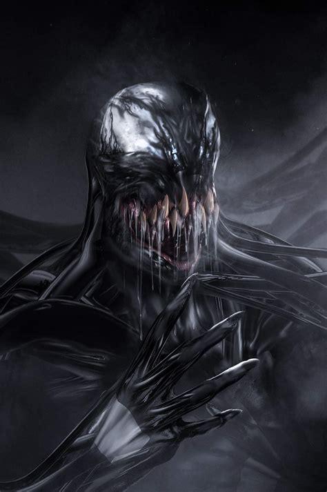 Tom Hardy Venom Transformation Artwork!  Venom Movie News