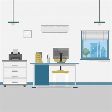 Bürohintergrunddesign  Download Der Kostenlosen Vektor