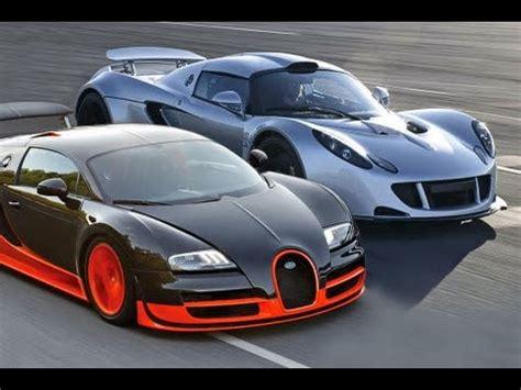 Bugatti Veyron Vs by Bugatti Veyron Sport Vs Hennessey Venom Gt