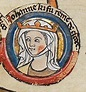Joan of England, Queen consort of Scotland, wife of ...