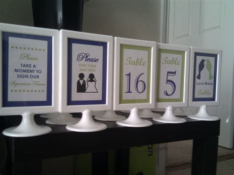 domesticated diva    seatdiy table numbers