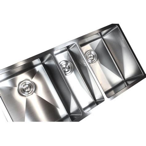 3 bowl kitchen sink undermount 42 inch stainless steel undermount bowl kitchen 7311