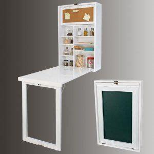 petit bureau pliable table de cuisine pliable petits espaces petits
