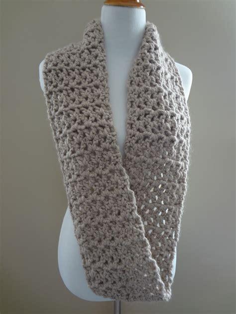 free crochet scarf patterns fiber flux free crochet pattern pavement infinity scarf
