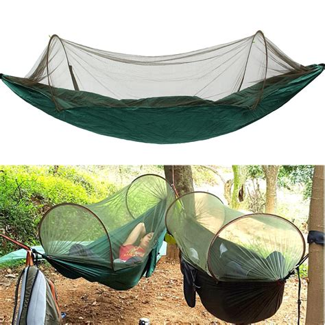 Sleeping Hammock by 250x120cm Portable Outdoor Cing Hanging Hammock